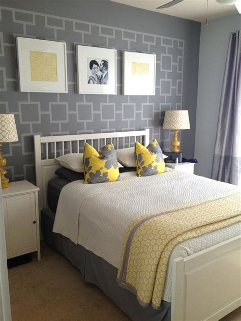 yellow and gray room gray and yellow bedroom ideas another shot of grey and