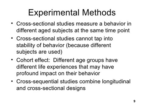 longitudinal cross sectional and sequential designs challengesto piaget