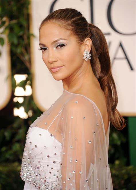 j lo ponytail hairstyles photo of j lo with ponytail celebrity hair stylebistro