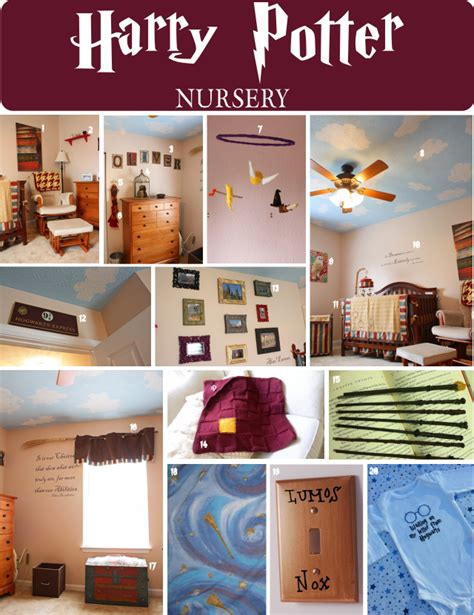 Home Interior Decorating Catalog by Diy Harry Potter Nursery For Children S First Bedroom