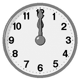 aftellende klok nieuwjaarsklokken