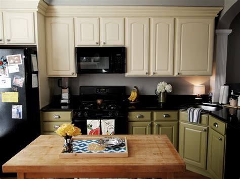 black laminate kitchen cabinets creamy white and green custom kitchen cabinet with black