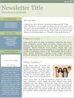 non profit newsletter template email templates for non profits and associations
