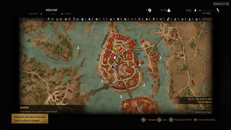 barber locations witcher 3 the witcher 3 wild hunt guide how to get hairstyles
