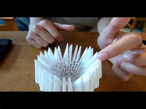 How To Make A 3d Swan Out Of Paper - 3d origami swan