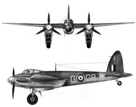 foto raf ve video aray n nf ex ogma avi 245 es da 2 170 guerra mundial mosquito