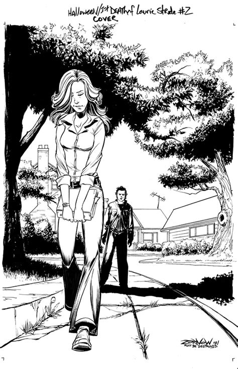 Horror Comic Book News Comic Monsters The Making Of Michael Myers Coloring Pages