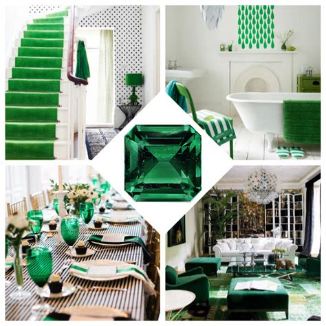 Emerald Green Decor by Birthday Planning Pretty