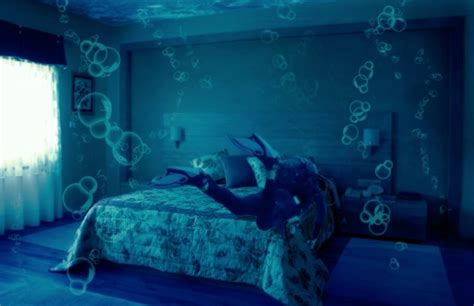 Bedroom Water by In Dreams Underwater Hotel Room
