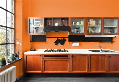 cucina arancione i migliori colori delle pareti per una cucina classica