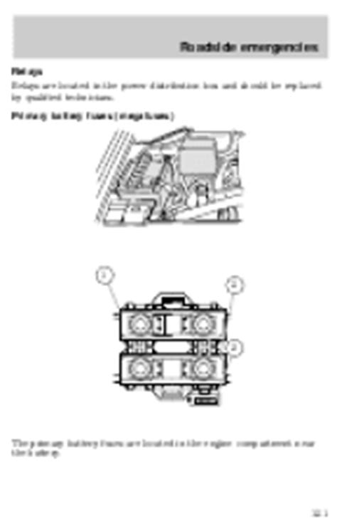best auto repair manual 1999 lincoln navigator seat position control 1999 lincoln navigator owner s manual page 116