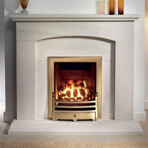 Limestone Fireplace by Gallery Cartmel Portuguese Limestone Fireplace Suite