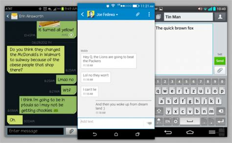 android text message app best messaging apps for android