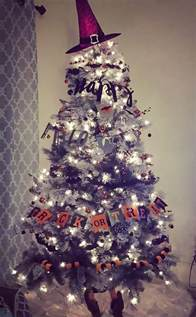 halloween christmas trees are a thing now 8 pics