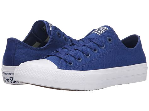 Converse Canvas Navy Blue Size 43 converse chuck 174 all ii ox in blue save 43