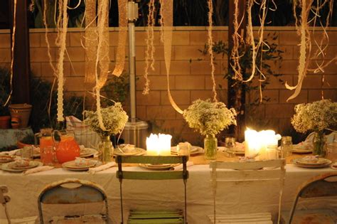 backyard dinner party ideas houzz holiday contest a pretty backyard dinner party