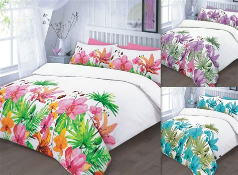 pink and teal bedding floral quilt duvet cover pillowcase teal pink lilac