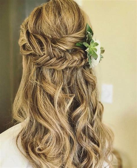 pictures of partial updo hairstyles pretty half up half down hairstyles partial updo wedding