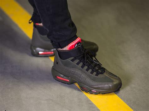mens sneaker boot s shoes sneakers nike air max 95 sneakerboot 806809