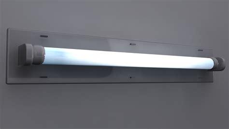 fluorescent light 3d model max fluorescent light fixture