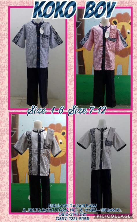 Grosir Baju Anak Setelan Koko Turki Katun Usia 1 3th kulakan baju koko boy anak laki laki murah 57ribu peluang usaha grosir baju anak daster