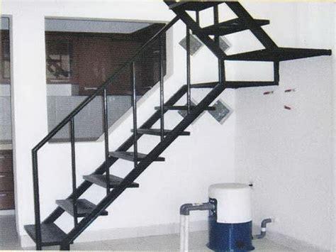 Tangga Aluminium By Tb Obor contoh desain tangga lurus bengkel las lasindo teknik