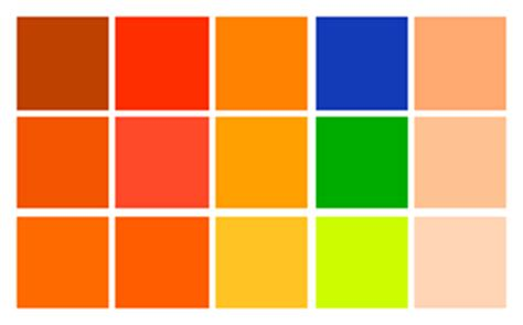 color combinations with orange orange colour palette www pixshark images galleries with a bite