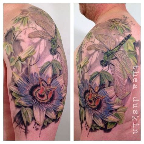 passion flower tattoo 17 best images about dragonflytattoos on