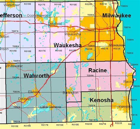 Kenosha County Records Wisconsin Land Survey Records Original Field Notes And Plat Maps