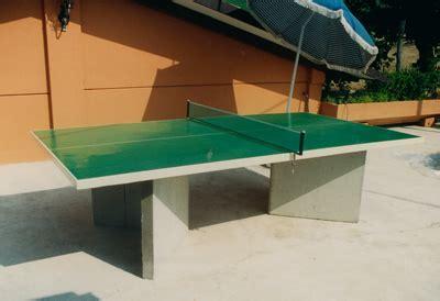 tavolo ping pong cemento marzillo prefabbricati zola predosa bologna realizzazioni