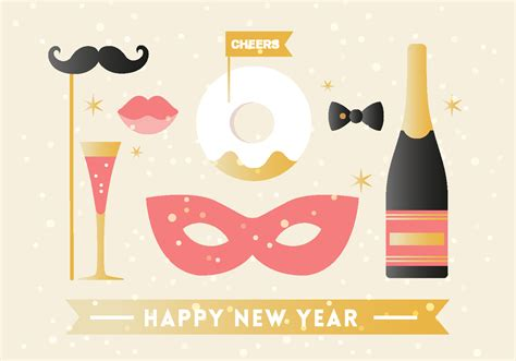 new year elements free happy new year background elements free