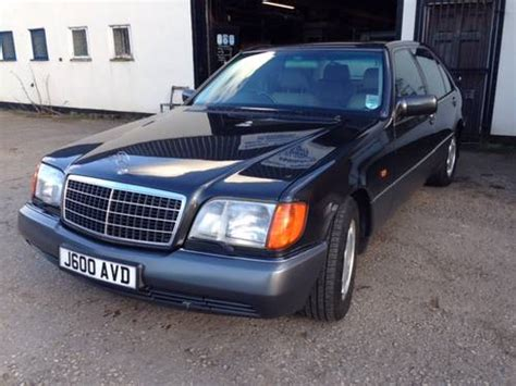 Mercedes S Class For Sale In Uk Mercedes 600sel S Class W140 For Sale 1992 On Car And
