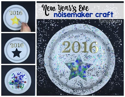new years craft for new year s noisemaker craft