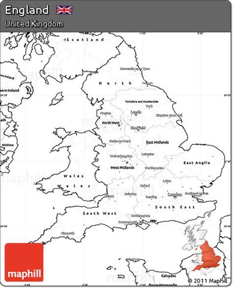 printable map united kingdom free blank simple map of england
