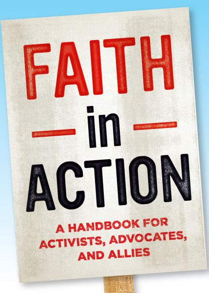 faith in a handbook for activists advocates and allies books theology religion