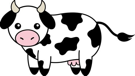 cow clipart cow clipart black and white clipart library free