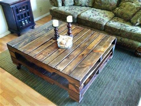 adorable pallet coffee table ideas wooden pallet