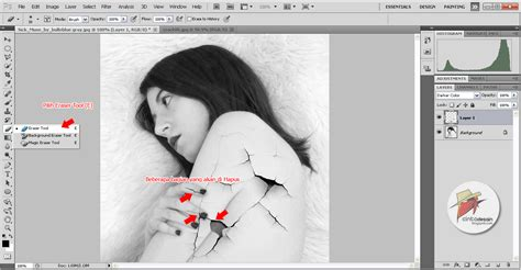cara membuat kolase wedding di photoshop membuat efek retak di photoshop album kolase wedding