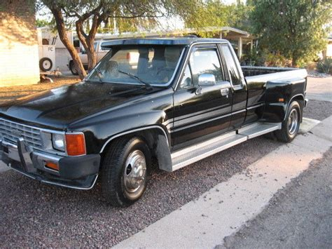 classic toyota truck 1986 toyota truck xtra cab 1ton dually classic toyota