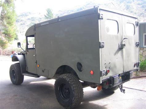 1964 dodge power wagon ambulance straight 6 4speed 4x4 power wagon rv for sale dodge power wagon ambulance