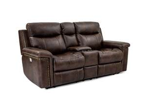 cheers sofa leather power reclining console