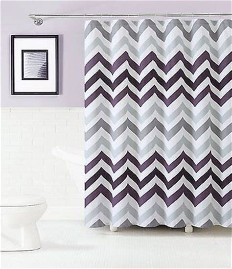 purple chevron curtains 1000 ideas about gray shower curtains on pinterest