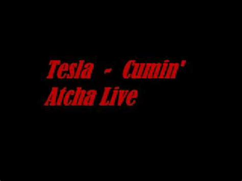 Tesla Signs Live Tesla Cumin Atcha Live