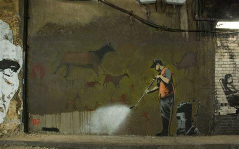street art banksy desktop wallpapers
