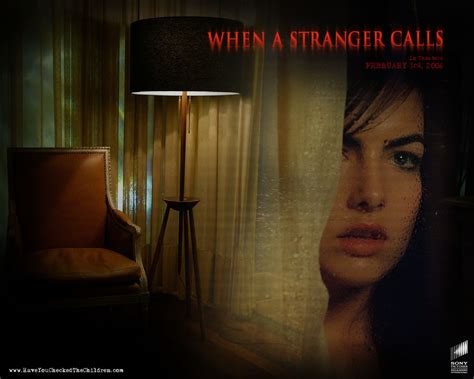 when a stranger calls 2006 when a stranger calls horror movies wallpaper 9482503