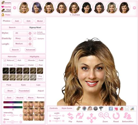 change hair color online photo editor how can i change my hairstyle online hairstyles