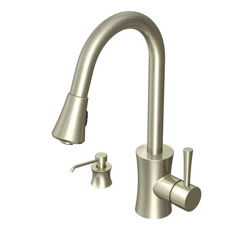 glacier bay pull down kitchen faucet glacier bay luca single handle pull down sprayer kitchen
