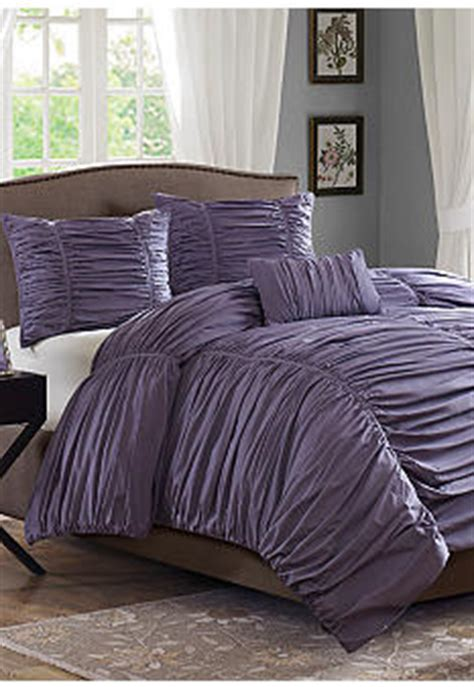 madison park delancey comforter set madison park delancey plum 4 piece comforter set online