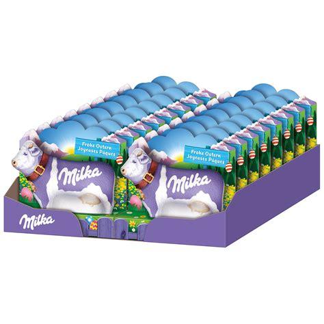 Mit Freundlichen Grüßen Und Frohe Ostern Milka Lila Kuh Alpenmilch Quot Frohe Ostern Quot Kaufen Im World Of Shop