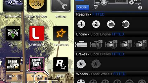 ifruit mobile app rockstar s ifruit app lets you customize grand theft auto